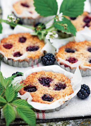 Frangipane med brombær - Kage/dessert - Opskrifter - Mad og Bolig