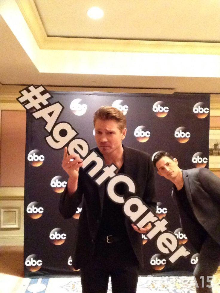 Chad Michael Murray - Agent Carter