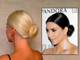 Image result for clean side parted updo