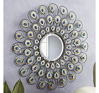 Peacock Mirror More inspirations: www.covetlounge.net