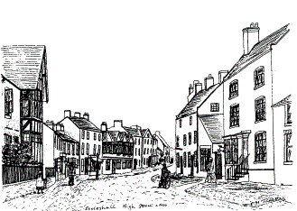 Eccleshall High Street