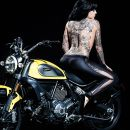 Ride or Die | Heather Moss |Tattooed Model - Inked Magazine