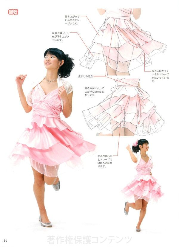 Photos and wrinkles progress of clothes that can be seen in the Illustrated Guide 2-casual street clothes, yukata, etc. - | like in the book!