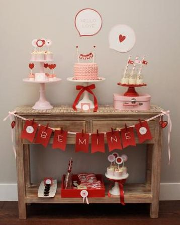 Decoração para o Dia dos Namorados!!!