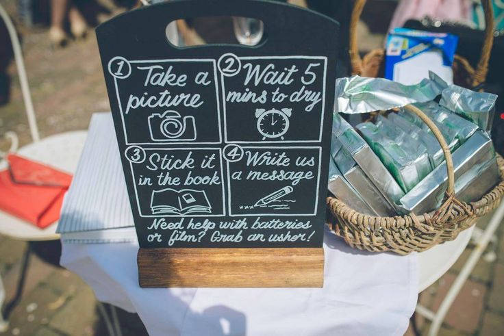 Loving this fun take on a guestbook