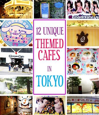 12 Unique Themed Cafes in Tokyo Japan