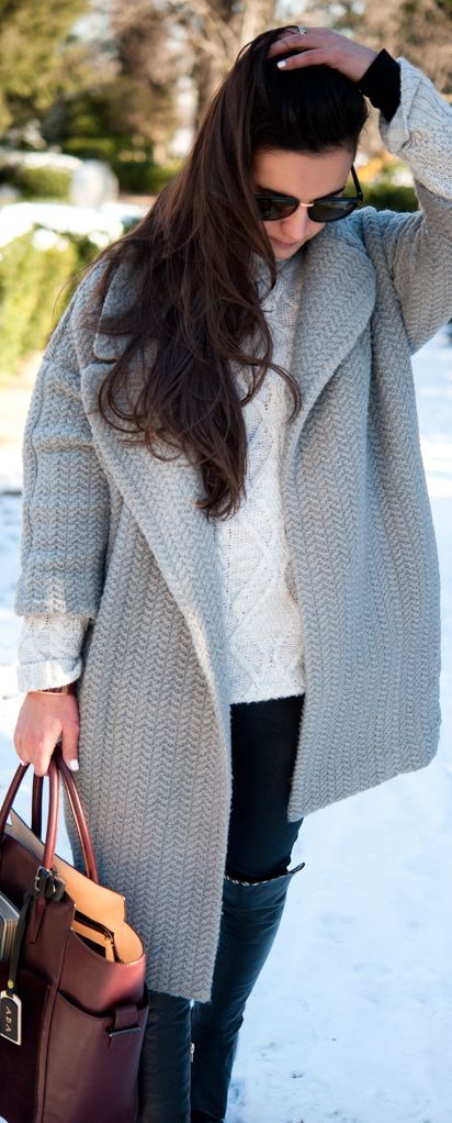 What To Wear When It's Freezing In DC by districtdressup