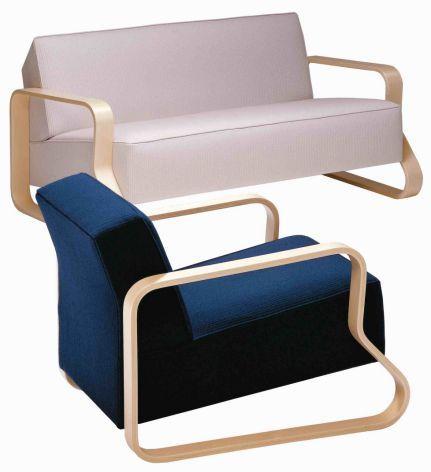 Sofa 544, Design Alvar Aalto