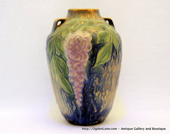 Roseville Wisteria Vase by ogdenlane: Wisteria Vase