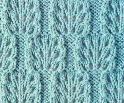 6 Best Images of Lace Knitting