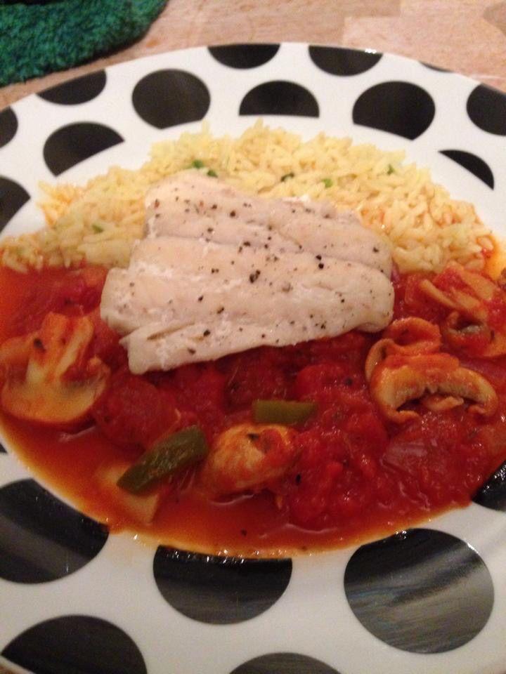 Mediterranean fish #slimmingworld