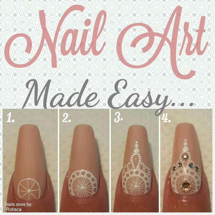 Easy Nail art! Check out this Mandala inspired nail art! It's like Henna for your nails!