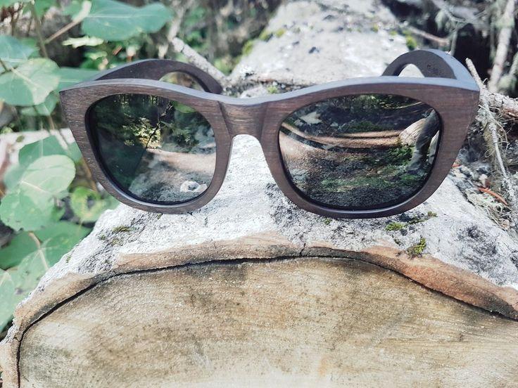 Seven Point Apparel Wood Framed Sunglasses