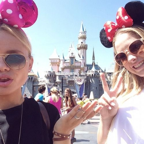 Disney... It'd be nice to have my bestfriend come along