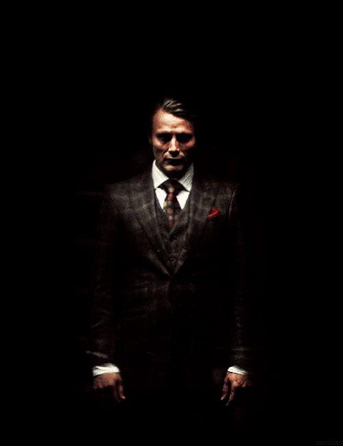 "Hannibal as ""murderous cheetah"" via plaid-suits-and-paisley-ties Tumblr"