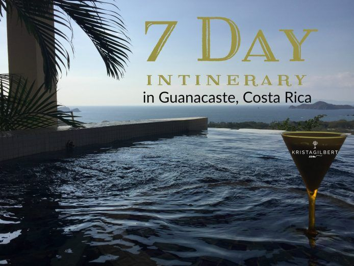 Looking to travel to Costa Rica with your family?  This is a 7-day itinerary in Guanacaste that includes travel options, helpful tips, beach descriptions, and recommendations.