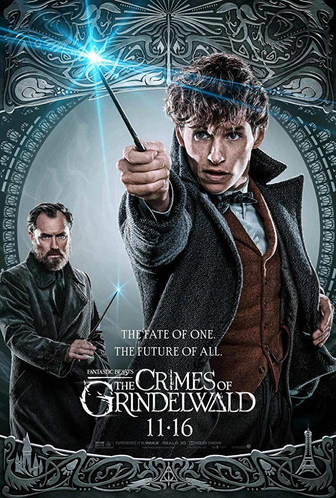 Movie Poster 2018 Johnny Depp in Fantastic Beasts Crimes of Grindelwald
