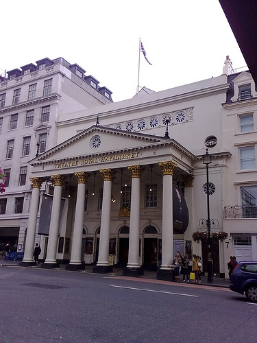 Theatre Royal, Haymarket London - I saw Rex Harrison and Diana Rigg in Shaw's Heartbreak House