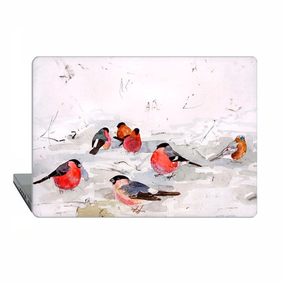 Macbook Air 11 macbook john wolseley birds 12 Case by ModMacCase