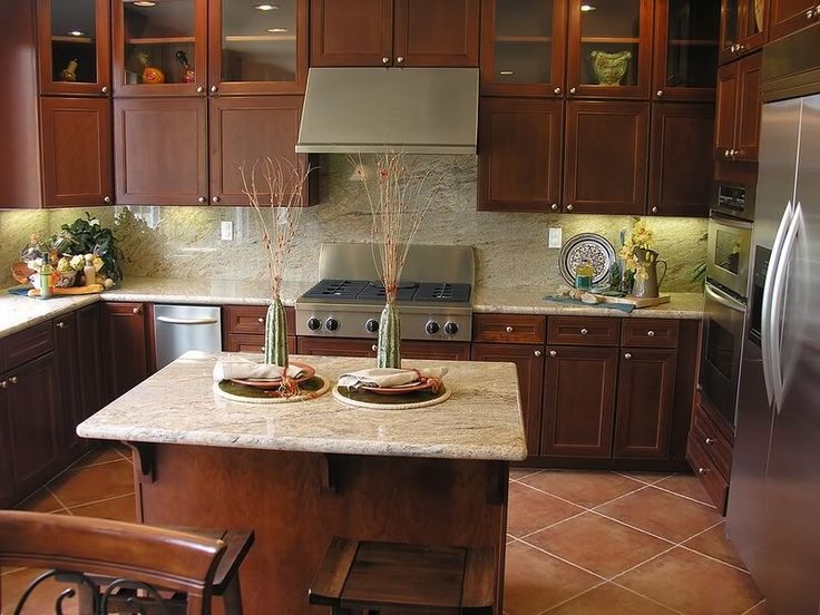 Image result for granite countertop and cabinet color ...