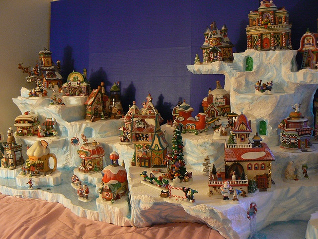 167 best Villages - Dept 56 images on Pinterest Christmas village - christmas town decorations