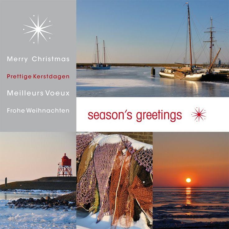 Zakelijke kerstkaart 6131 - Zakelijke kerstkaarten kunt u online bij Seasoncards.nl bestellen en kopen.