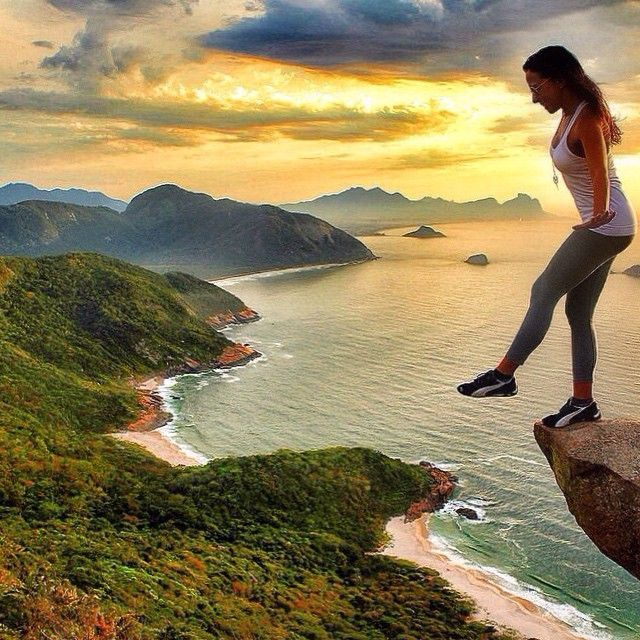 Instagram's patymoreno8 lives life on the edge in Rio. Photo courtesy of…