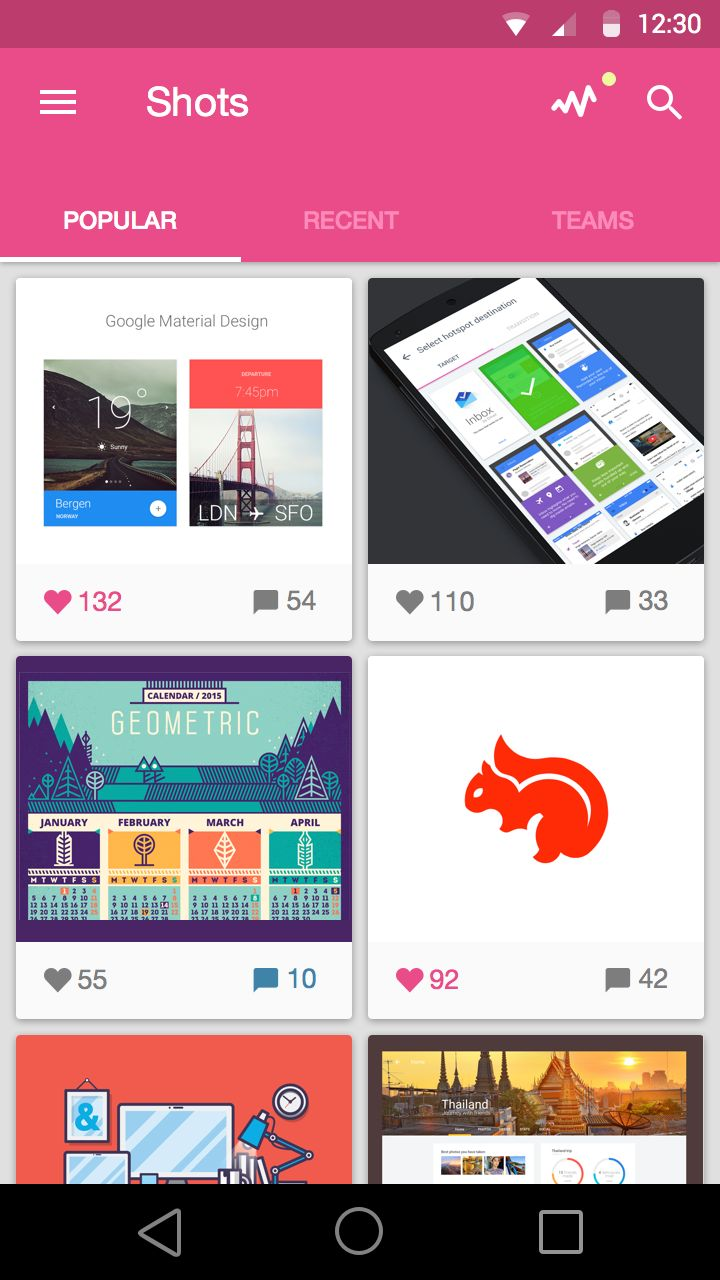 Dribbble_home