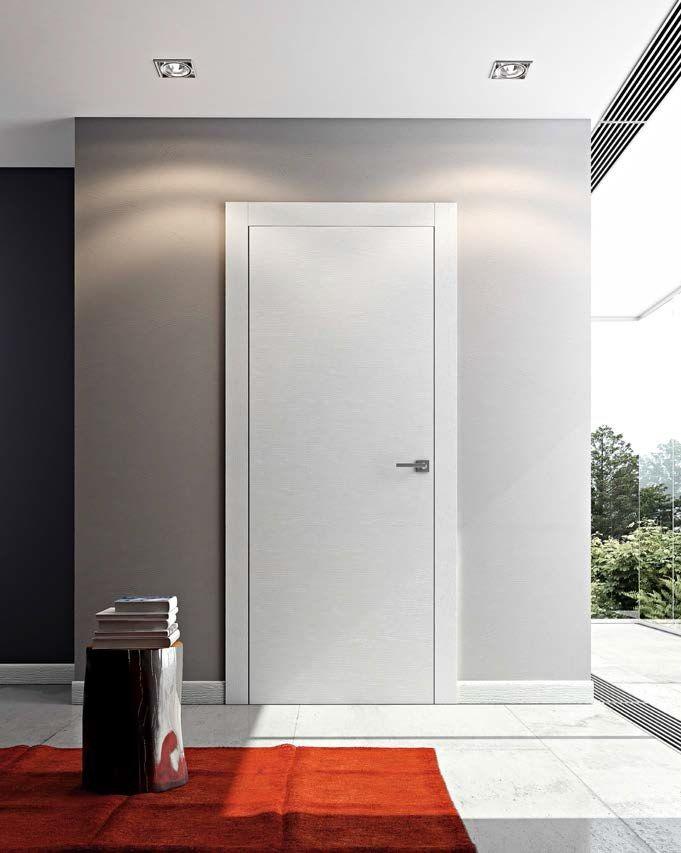 Creemos en la calidad como el unico camino hacia la competitividad! D-BF P36C. Puerta Blanco Frassino Modelo MS con Marco Tipo EVO // We believe that quality is the only way to be competitive! D-BF P36C. Frassino White Door Model MS with Frame EVO Type.