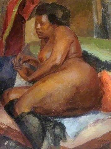 black fat porn paintings