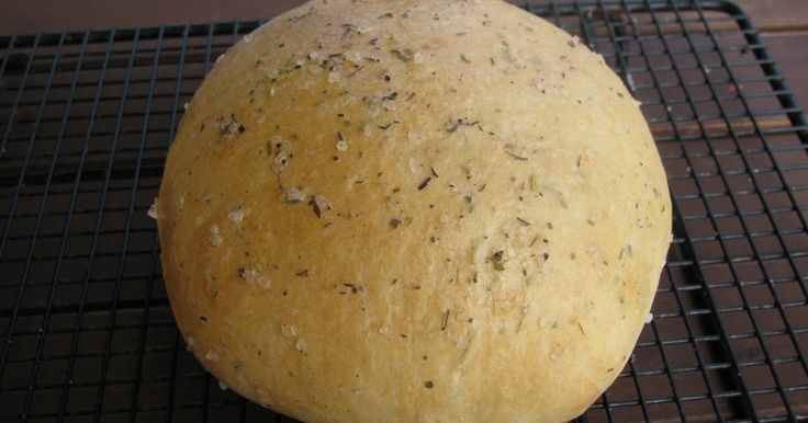 Anissa's Kitchen: Bread Machine Recipe for Macaroni Grills Rosemary Herbed Bread