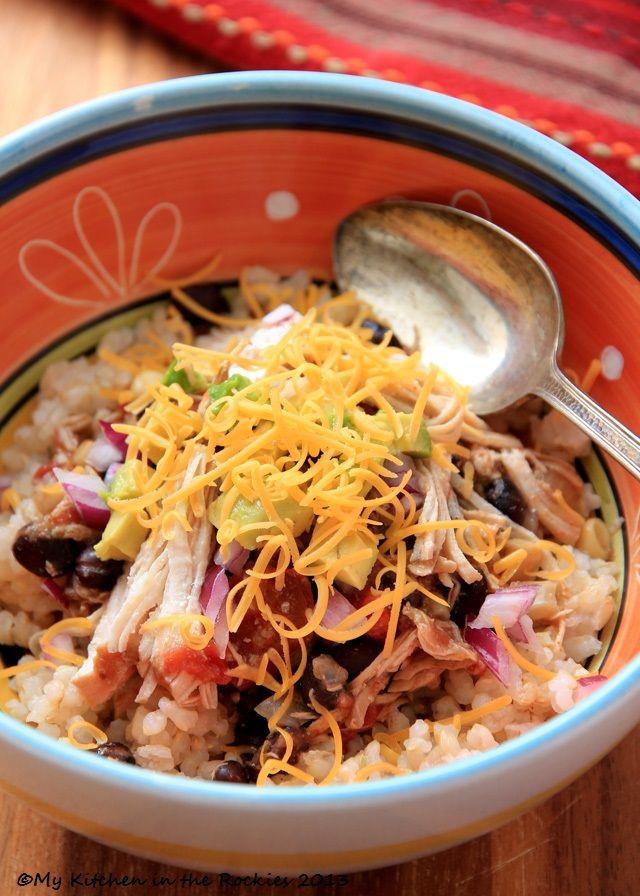 Crock Pot Santa Fe Chicken Colorado Denver Foodblog German recipes My Kitchen in the Rockies | A Denver, Colorado Food Blog
