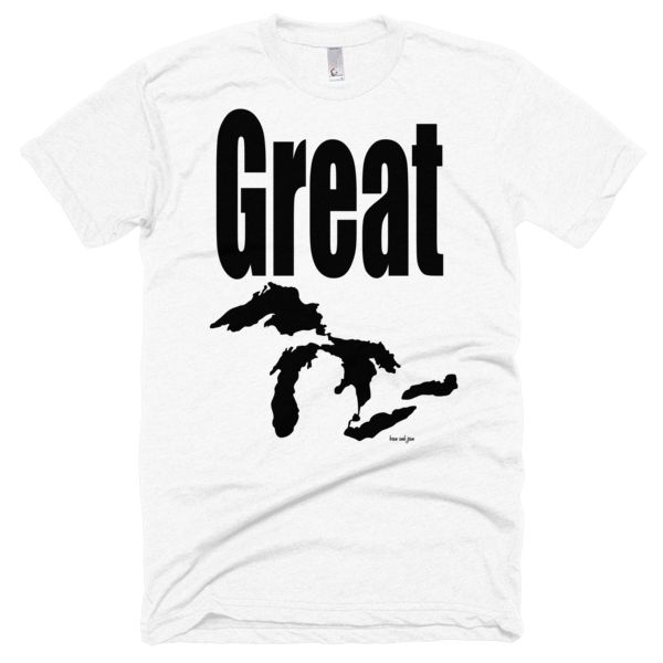 Greak Lakes #beanandjean   Ultra soft and slim-fitting t-shirt that makes you feel comfortable.  Unisex size – women may prefer to order one size smaller