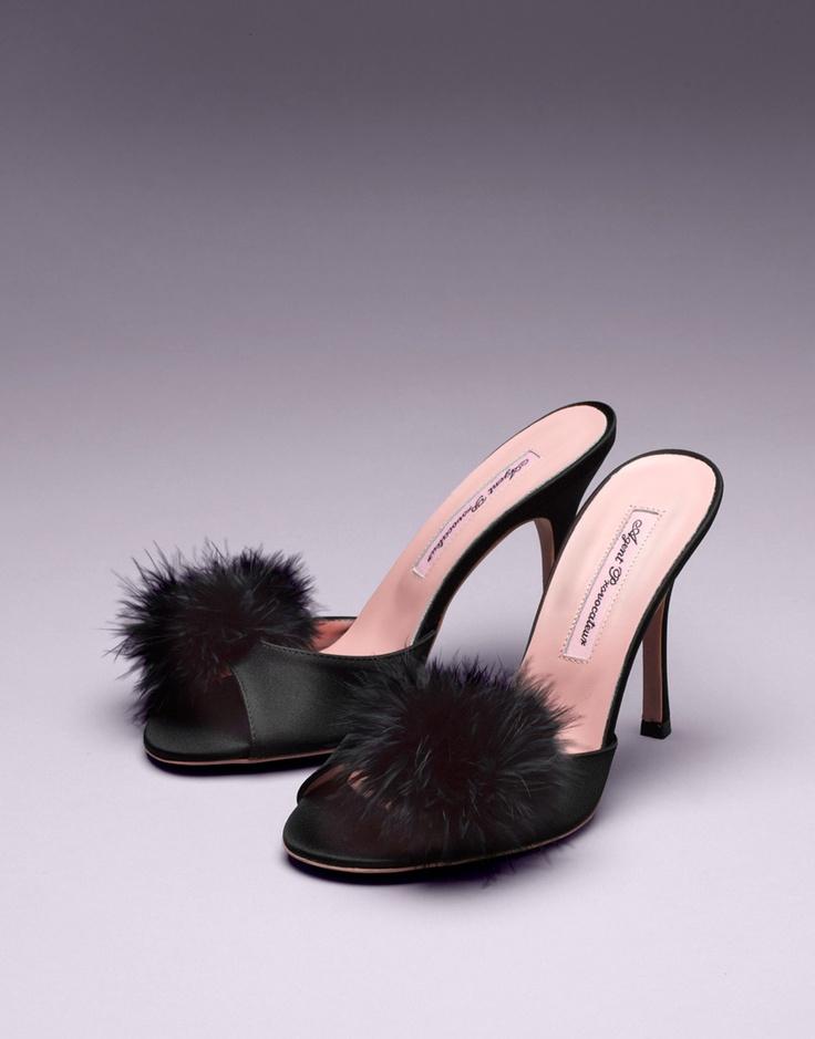 Agent Provocateur - Pom Pom Mules | shoes i gotta own | Pinterest ...