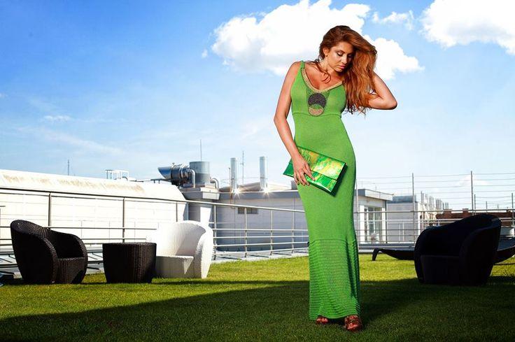 Hippi ruha zöld