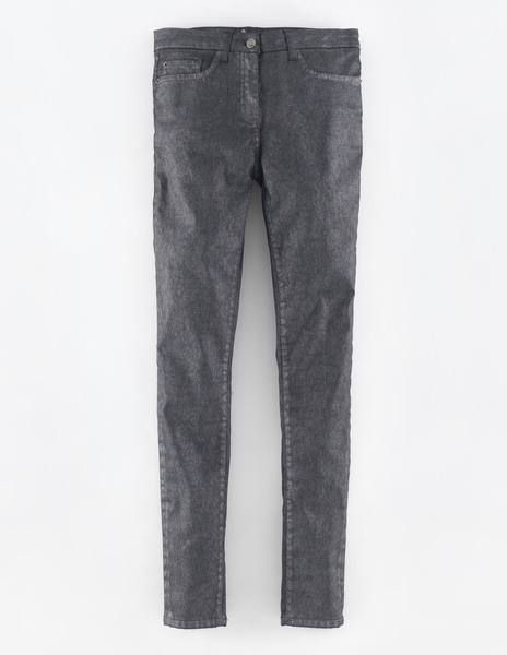 Superschmale Jeans mit hoher Taille