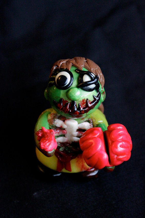 Molly the Zombie by jessicarenahan on Etsy, $30.00