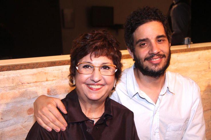 Vilma Eid e Tiago Mesquita