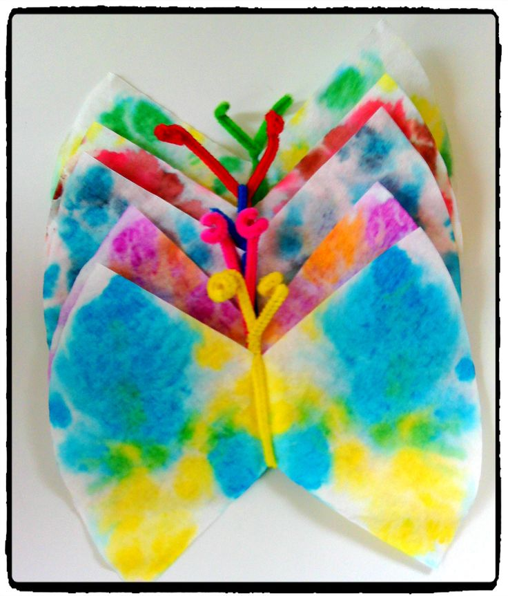 Papillons multicolores – Mes humeurs créatives by Flo
