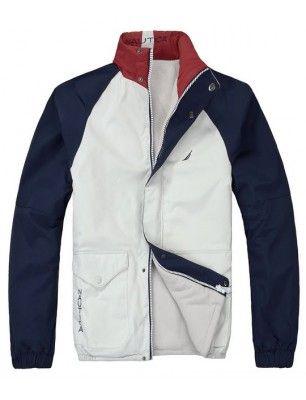 Nautica chaqueta reversible de hombre | white-navy