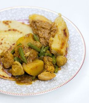 Slow Cooker Roti Chicken à la Kay - Nombelina's Foodblog