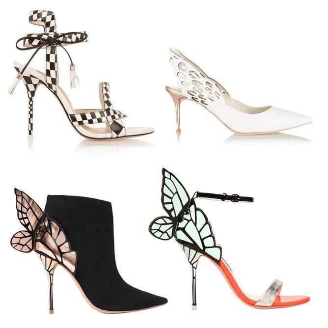 Sophia Webster Schuhe mit Flügeln 2015