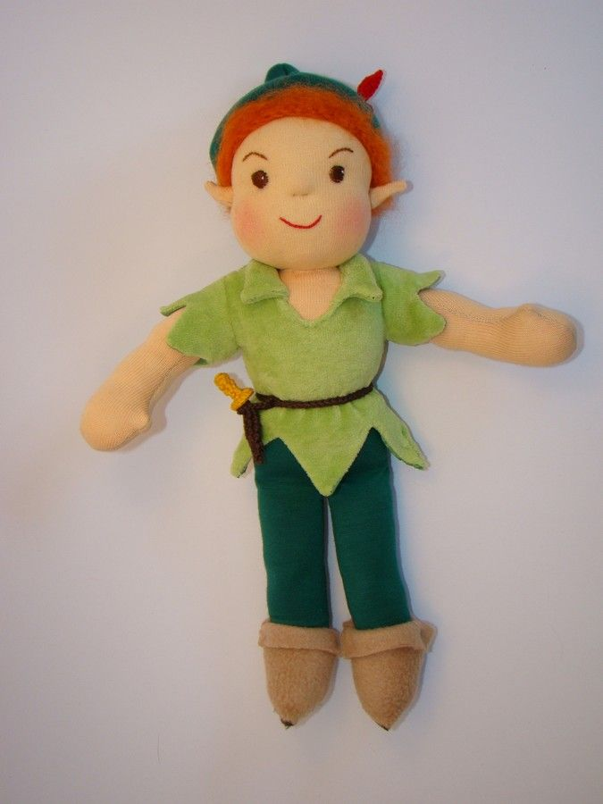 Peter Pan doll Made for order. :) https://www.facebook.com/gleditahandmade You can order him :)