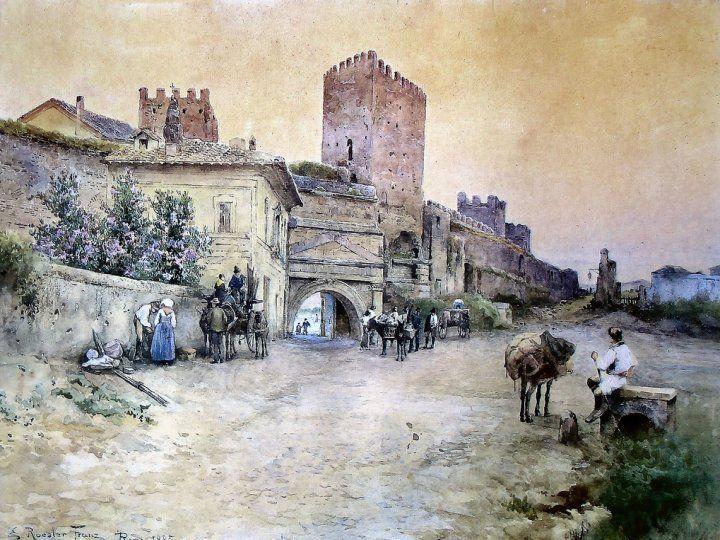 FRANZ ROESLER 1885 POCO FUORI PORTA