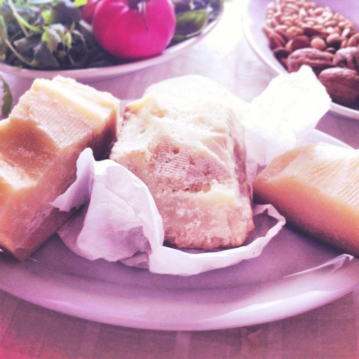 Pecorino cheeses. For more yummy recipes visit my blog http://mozzarelladiaries.blogspot.it/