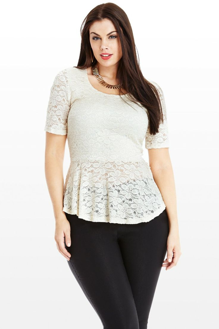 Find great deals on eBay for plus size peplum top. Shop with confidence. Skip to main content. eBay: Shop by category. Torrid Burgundy Lace Mock Neck Peplum Tank Top Shirt Plus Size 3 3X. Torrid · Size (Women's):3X. $ Buy It Now +$ shipping. 16 Watching.