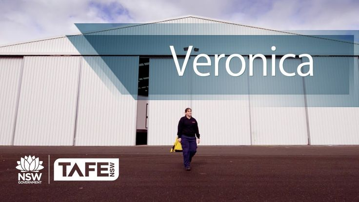 Veronica is learning to be an Aircraft Mechanic with New England TAFE & BAE. Keepin it real Veronica!