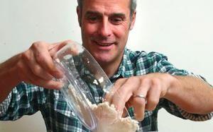 Phil Vickery makes his own flour mixes