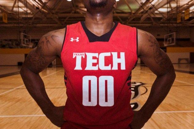 Texas Tech Basketball 2012-13 UA Road Jersey