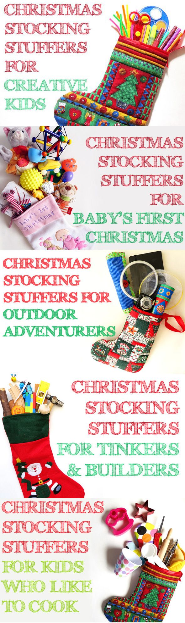 The ultimate guide to stocking stuffer ideas for kids...according to interests.